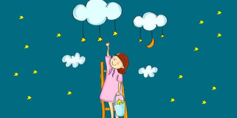 Poesía para niños Promesa a las estrellas