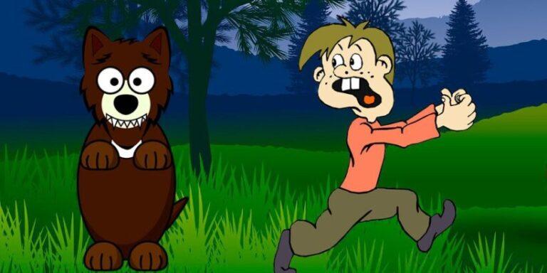Jugaremos en el bosque o jugaremos a que viene el lobo, una ronda para niños