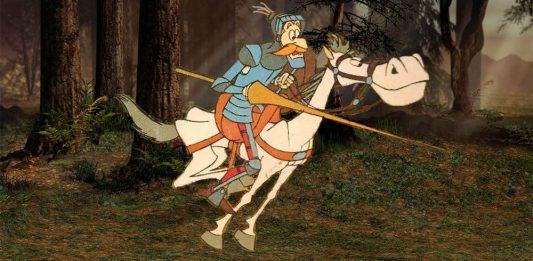 Don Quijote de la Mancha para niños: La aventura de Andrés y la quema de libros