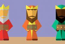 Poesías de Navidad para niños: Los tres reyes magos