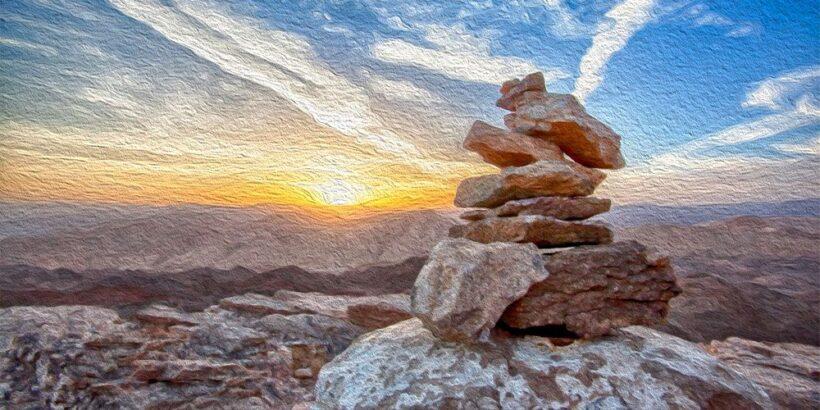 La roca y el perdón, una fábula budista sobre el perdón