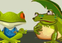 Sapito y Sapón, poesía infantil con rima sobre la empatía