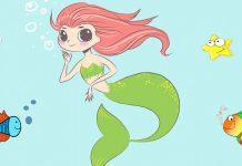 La Sirenita, un cuento para niños