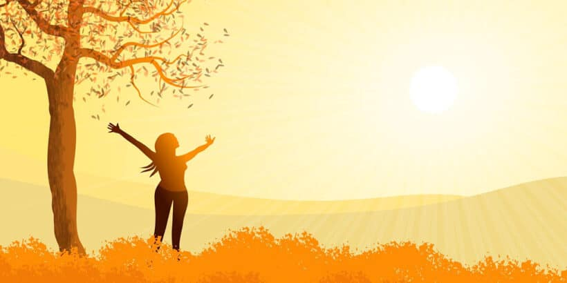 La leyenda de Por qué el sol está en lo alto del cielo