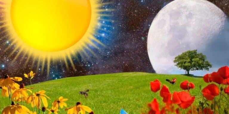 Leyenda sobre el origen de la luna y el sol para niños