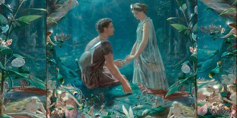 El sueño de una noche de verano para niños y mayores, de Shakespeare