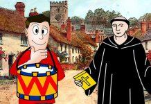 El tamborilero y el predicador, una fábula para niños