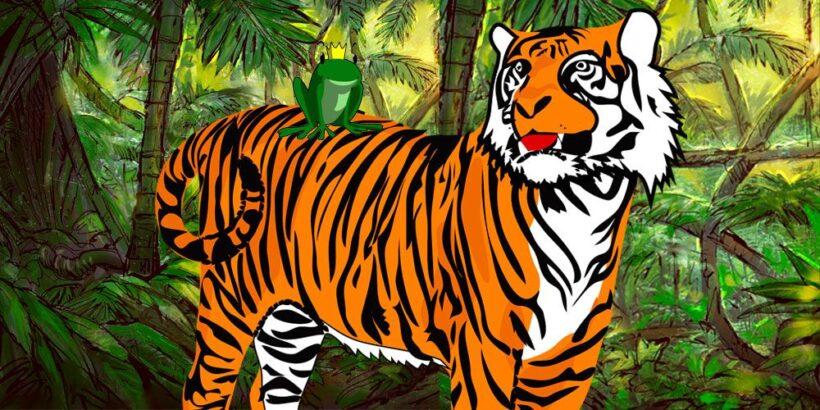 El tigre y la rana, cuento tibetano para niños