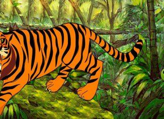 Una fábula infantil sobre la prepotencia y la humildad: El tigre y el saltamontes