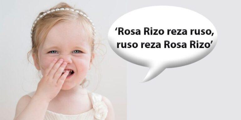Los mejores trabalenguas con la letra R para niños