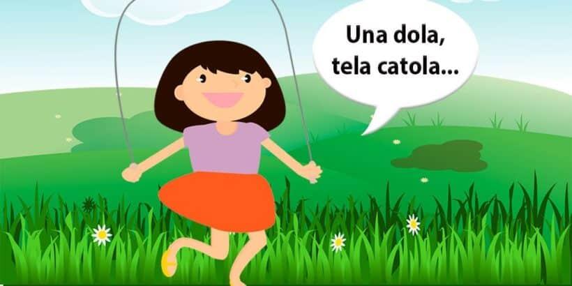 Una dola, tela catola, un juego popular para niños