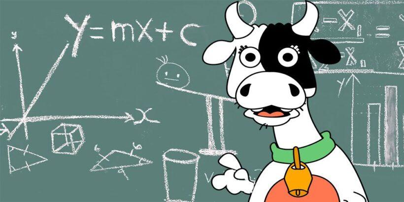 La vaca estudiosa, una poesía de María Elena Walsh sobre la importancia de ir a la escuela