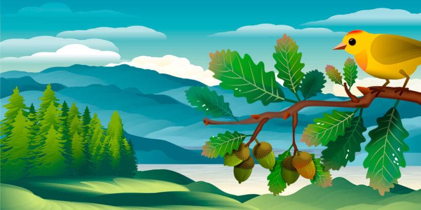 Una preciosa leyenda con valores: El viaje de los árboles sagrados