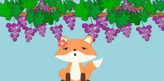 La zorra y las uvas, una fábula de Esopo sobre la soberbia