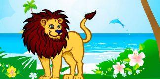 Una fábula de Esopo para adolescentes y adultos: El león y el delfín