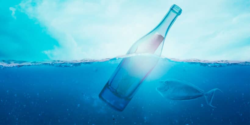 La botella del mar, un microrrelato para adolescentes y adultos