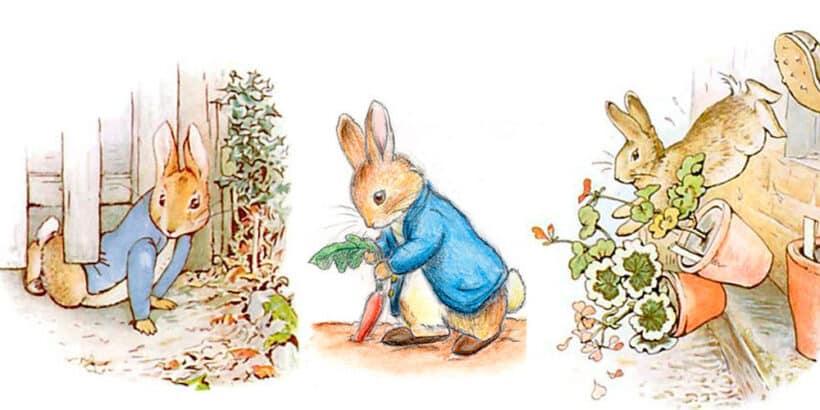 Pedrito, el conejo travieso, un cuento para niños