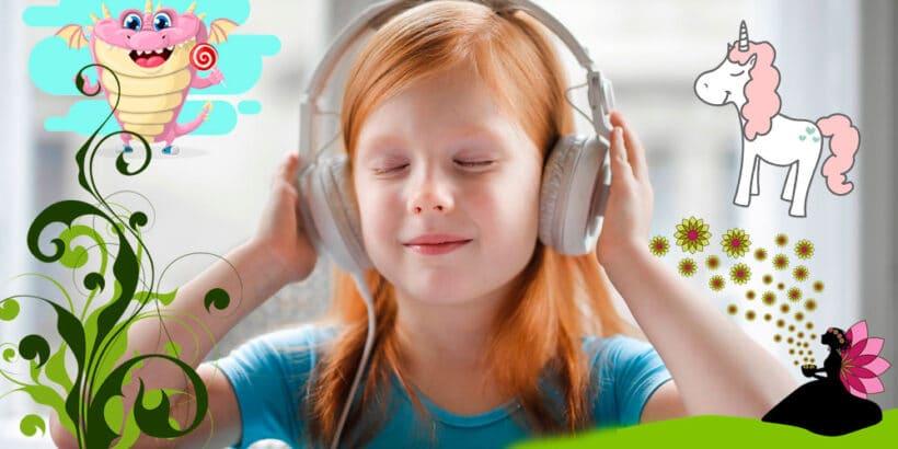 Audiocuentos para niños para el verano