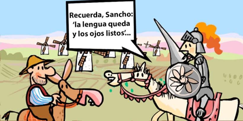 Refranes y frases de Don Quijote explicados para niños