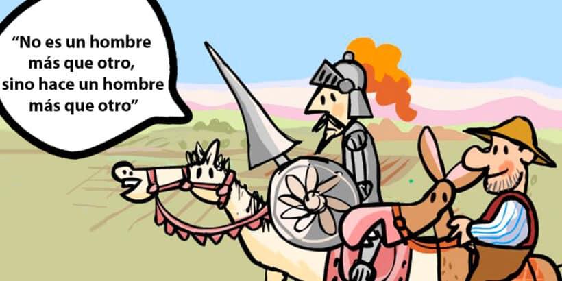 Refranes de Don Quijote explicados para niños