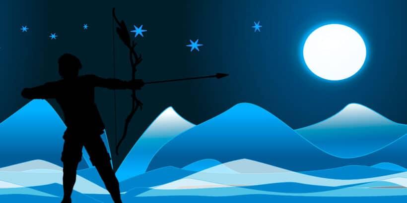 Cuento patra adolescentes y adultos: El arquero y la luna