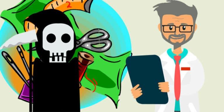 Un cuento infantil sobre la muerte: El doctor improvisado