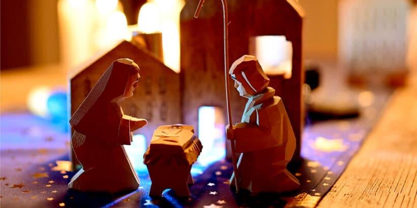 El nacimiento del niño Jesús en video para niños