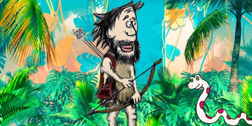 El cuento El cazador de Hailibu