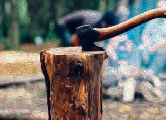 Relato corto para reflexionar, para adolescentes y adultos: El hacha del leñador