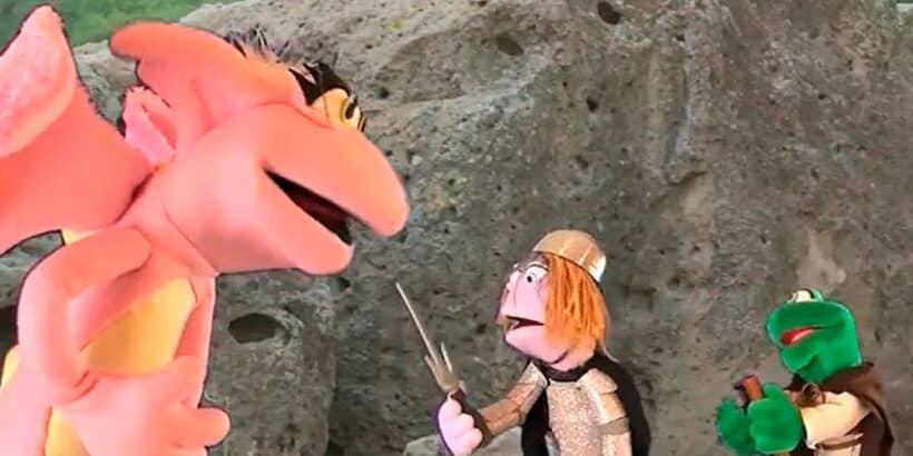 El cuento para niños de Jorge y el dragón