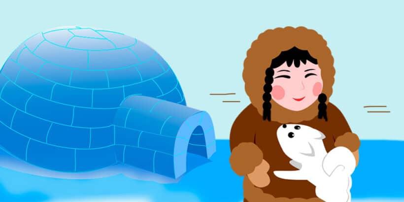Cuento para niños de origen esquimal: Sedna y el cazador