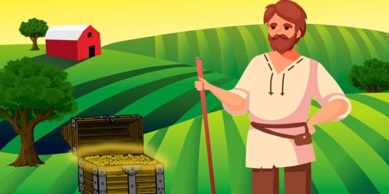 Una fábula corta de Esopo: El labrador y la Fortuna