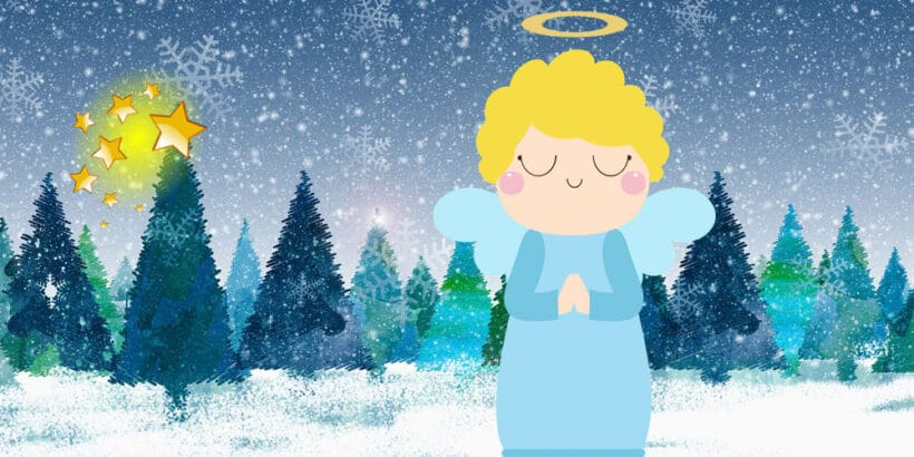 Cuento de Navida para niños: Los ángeles de nuestra montaña