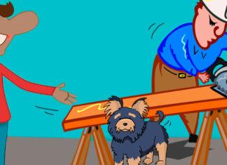 El divertido cuento popular El gitano que esquiló un perro