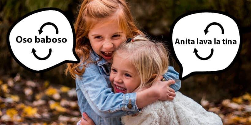 Ejemplos de palíndromos para niños