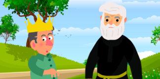 Cuento popular español para niños: El príncipe Tomasito y San José