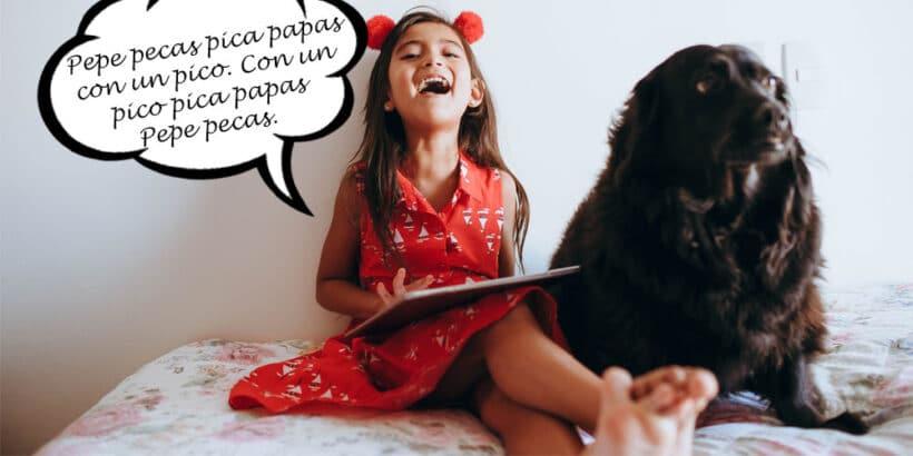 Los trabalenguas para niños más populares