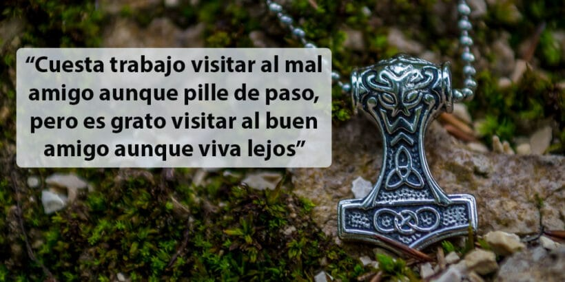 Selección de proverbios vikingos