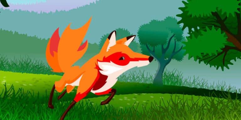 Un cuento para niños francés sobre la picaresca y el engaño: El zorro astuto y el lobo