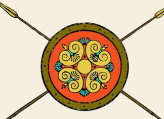 Fábula corta sobre la prepotencia: El vendedor de lanzas y escudos
