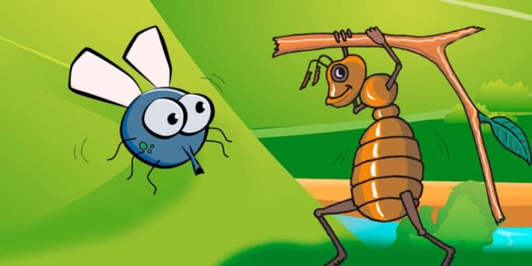 La fábula sobre la vanidad: La mosca vanidosa