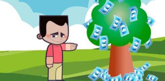 Cuento para niños sobre la picaresca: Pedro y el árbol del dinero