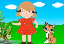 Aurora y la gata, un cuento infantil