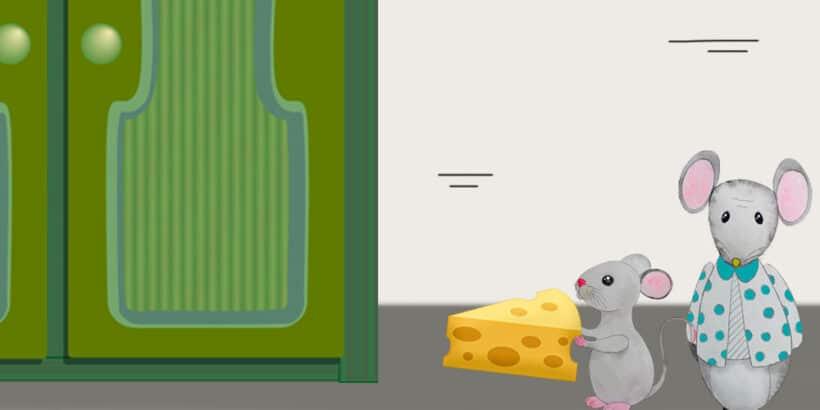 Un cuento infantil sobre los abuelos: El ratón joven y el ratón viejo