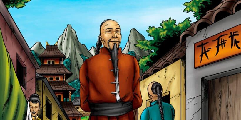 La fábula china Los rumores sobre Zeng Shen