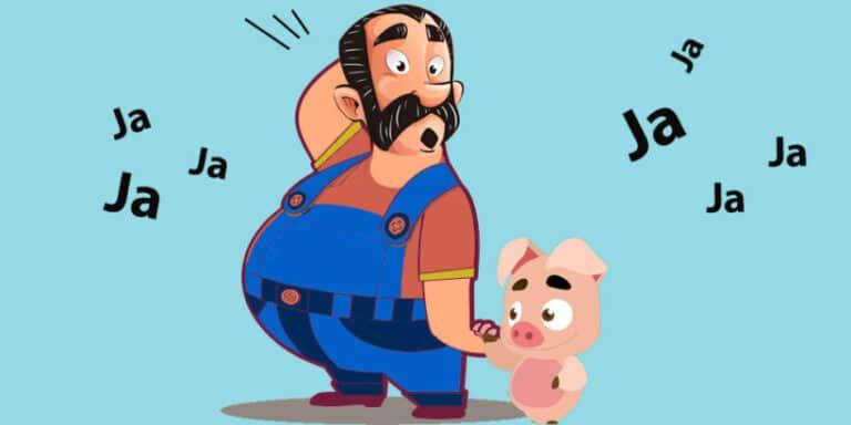 Una fábula corta sobre los engaños: El bufón y el campesino