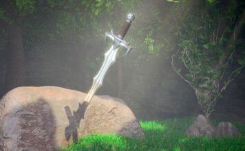 La leyenda inglesa de Excalibur y el rey Arturo
