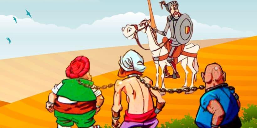 La aventura de Don Quijote y los galeotes