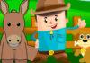 Fábula de Esopo para niños: El burro y el perrito