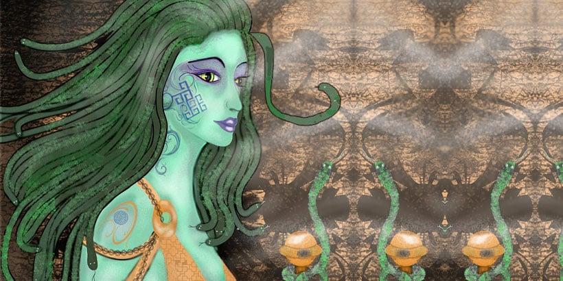 Medusa y Perseo, un relato de la mitología griega